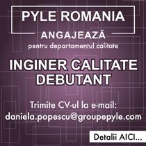 Pyle Romania SRL Angajeaza