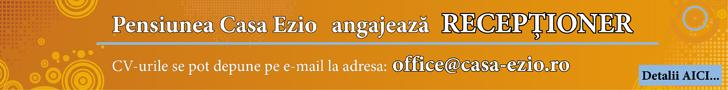 Casa Ezio Angajeaza
