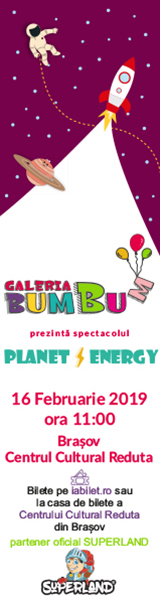 Planet Energy - Spectacol pentru copii