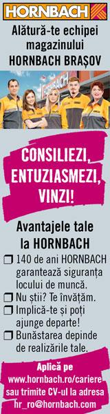 HORNBACH Angajeaza