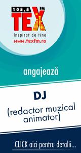 TEXFM angajează DJ